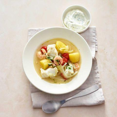 Gemüse-Fisch-Eintopf