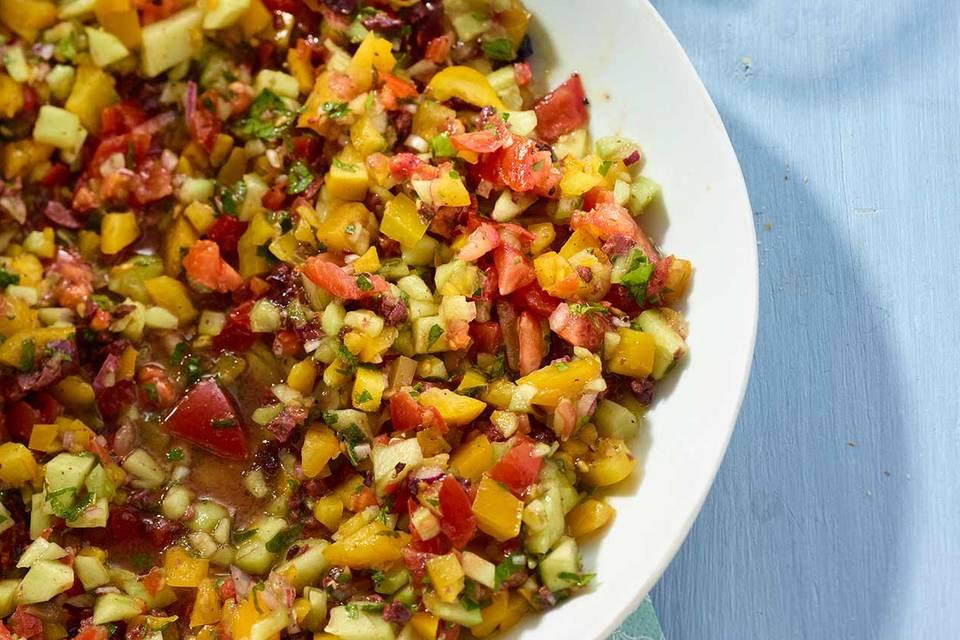 Gehackter Salat Rezept