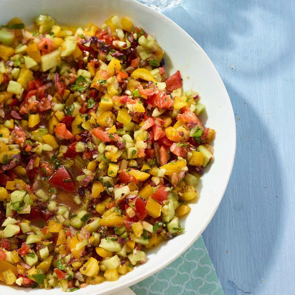 Gehackter Salat
