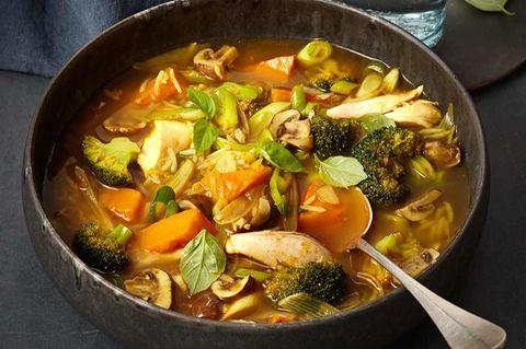 Geflügel-Curry-Eintopf