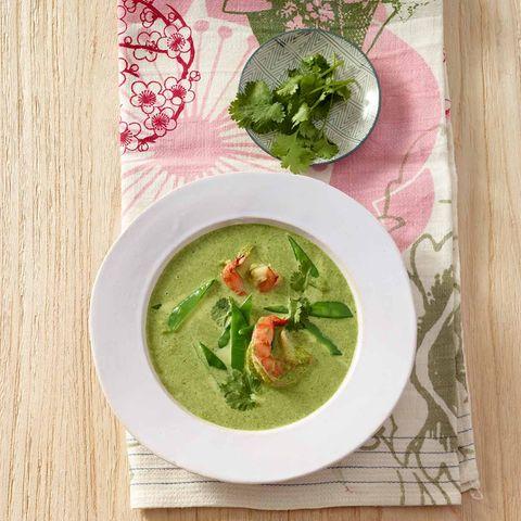 Kokos-Spinat-Suppe