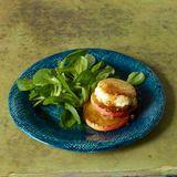 Warmer Ziegenkäse mit Salat