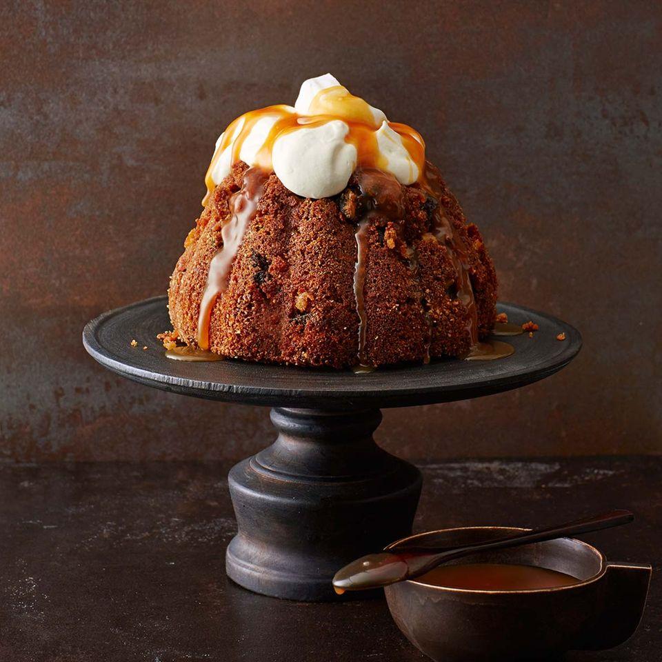 Scheiterhaufen-Pudding