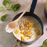 Porridge mit Mango