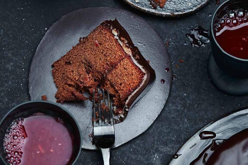 Schoko-Blutorangen-Torte Rezept