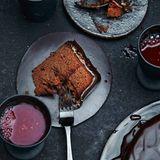 Schoko-Blutorangen-Torte