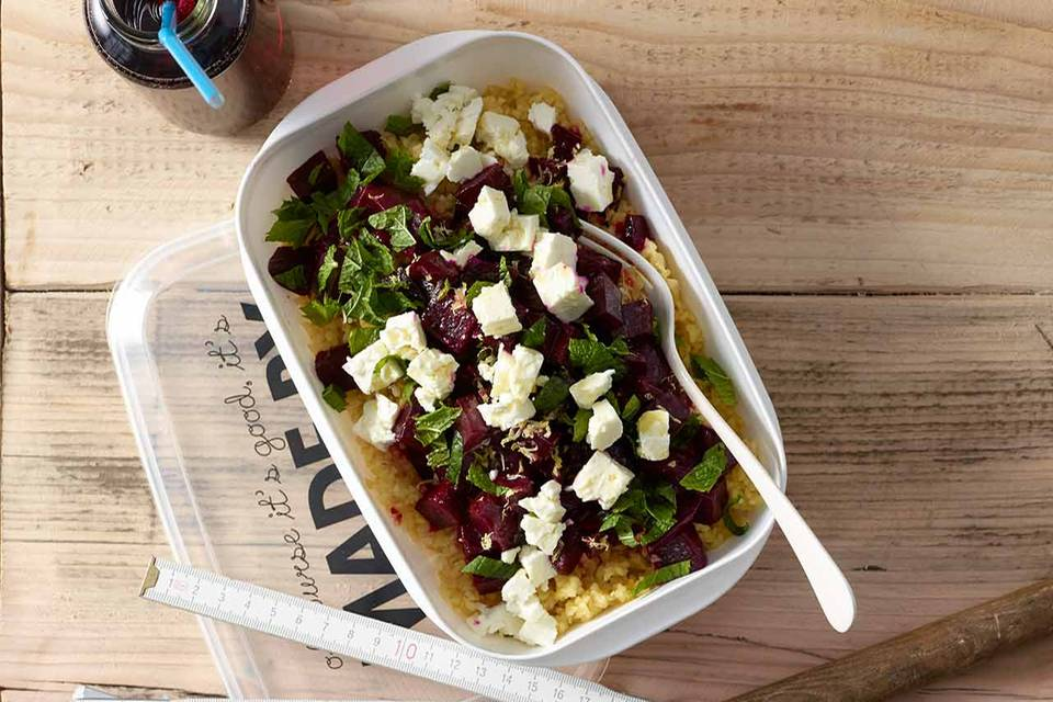 Bulgur-Rote-Bete-Salat Rezept