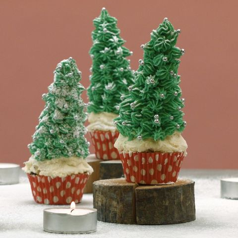 Christbaum-Muffins
