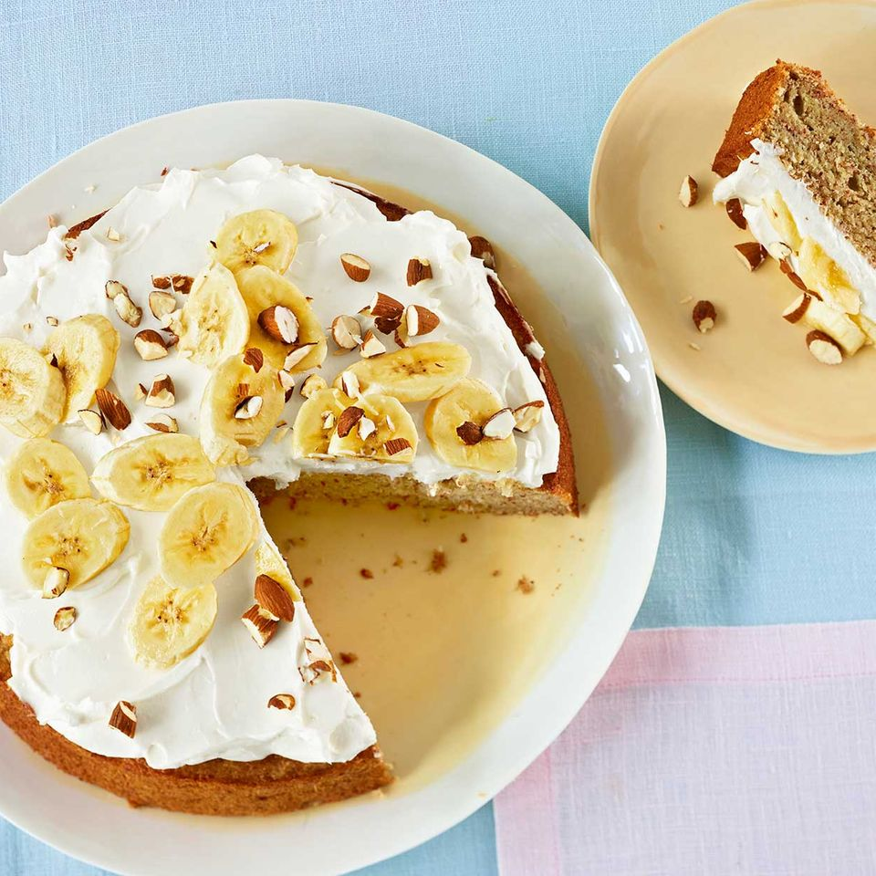 Mandel-Bananenkuchen