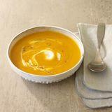 Kürbissuppe mit Meerrettich