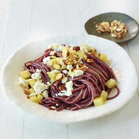 Rotwein-Spaghetti