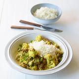 Curryhack mit Blumenkohl