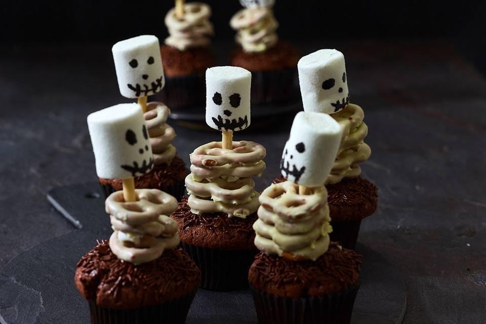 Geister-Muffin Rezept