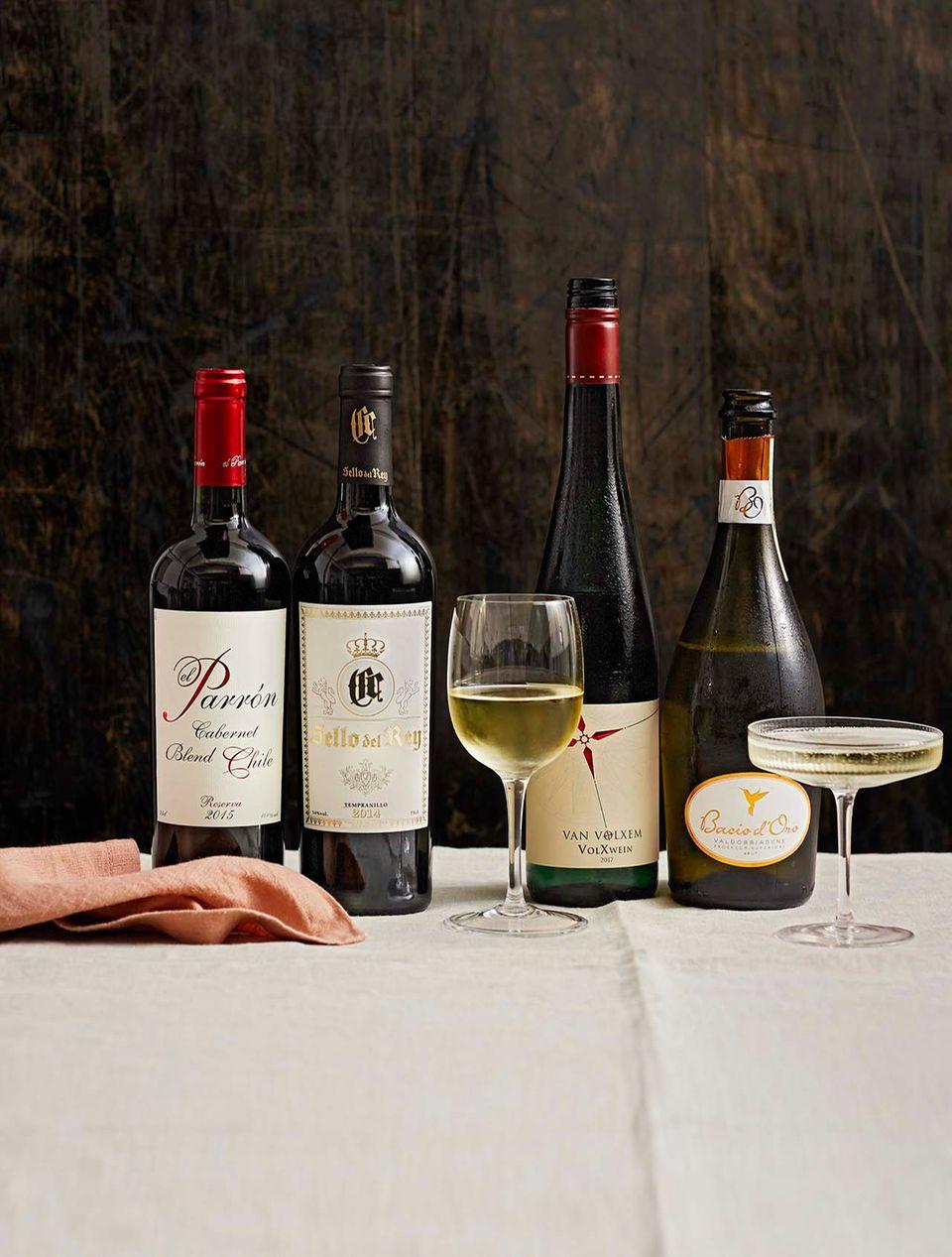 Exklusives Weinpaket für entspannte Gastgeber