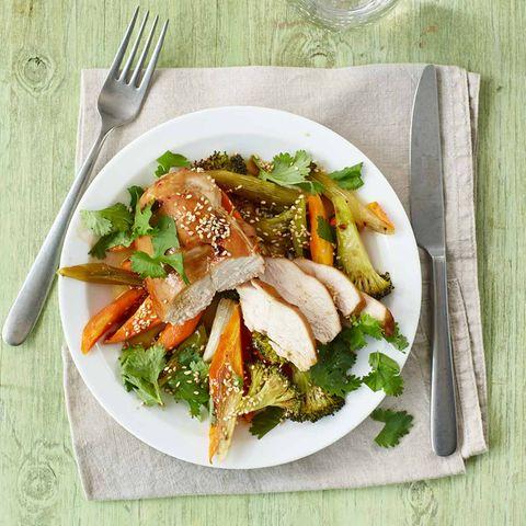 Asia-Hähnchen mit Gemüse