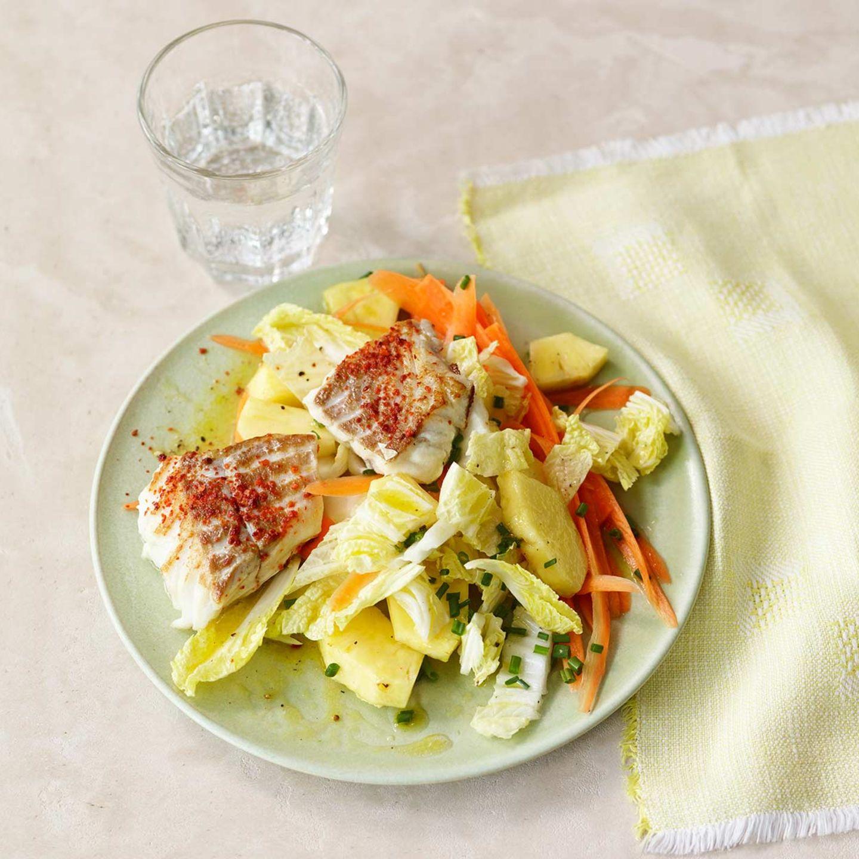 Chinakohl-Ananas-Salat