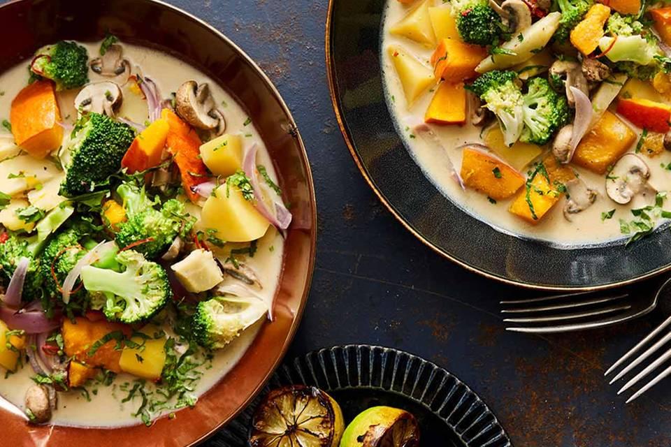 Veganes Gemüse-Kokos-Curry Rezept