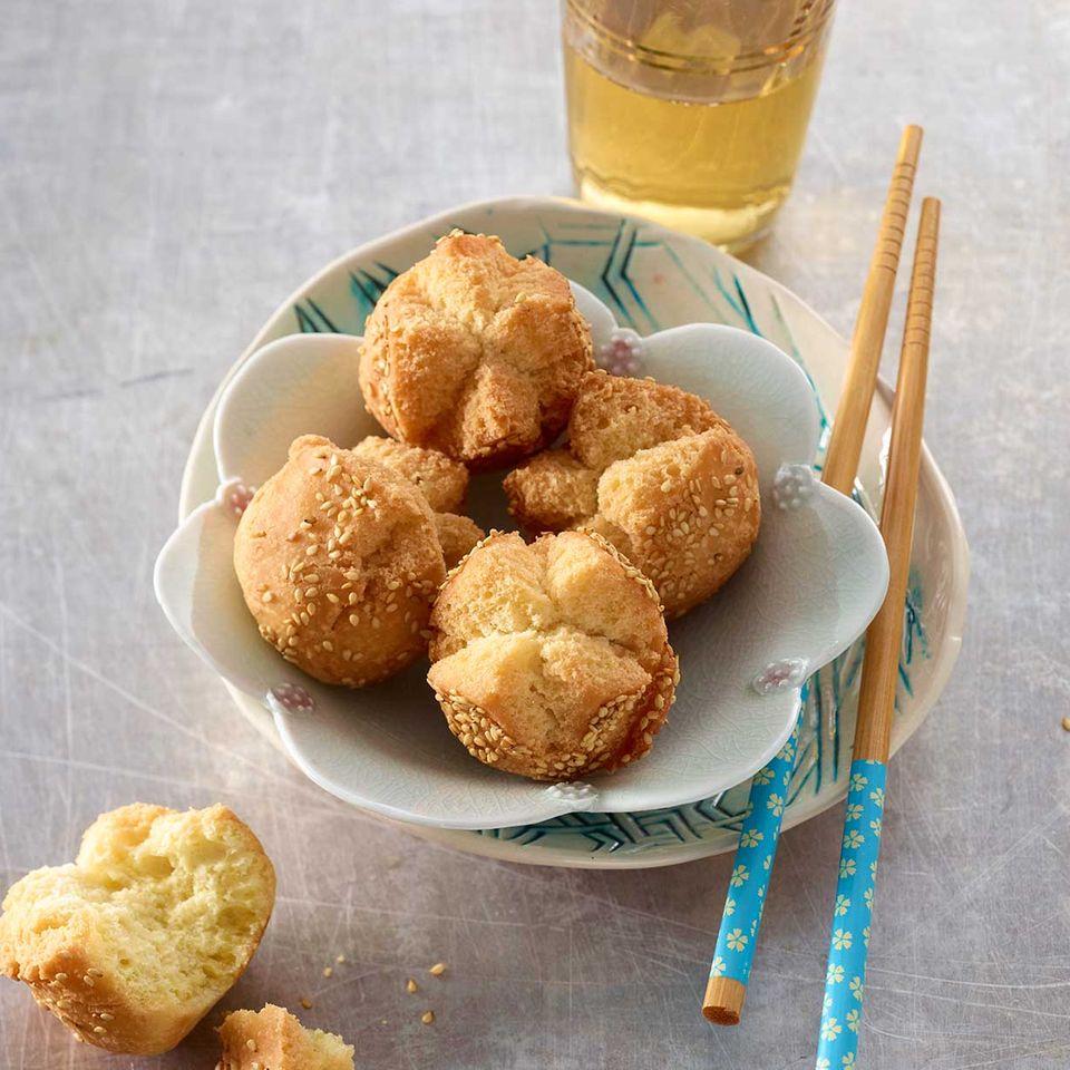 Frittierte Sesambällchen (Banh Cam)