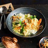 Fisch-Curry mit Dill-Reis