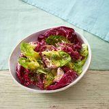 Radicchio-Salat mit Kresse