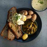 Kartoffel-Käse-Fondue