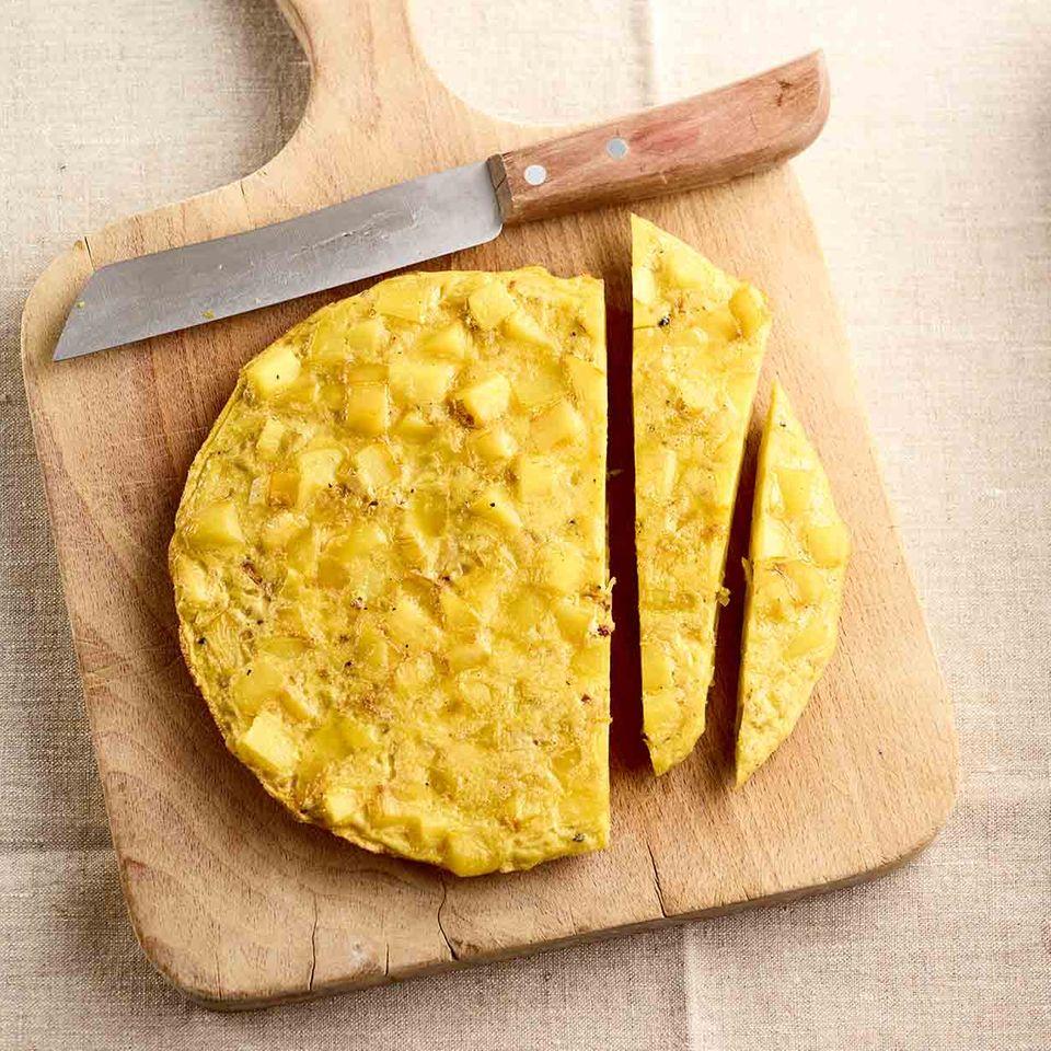 Kartoffel-Tortilla Grundrezept