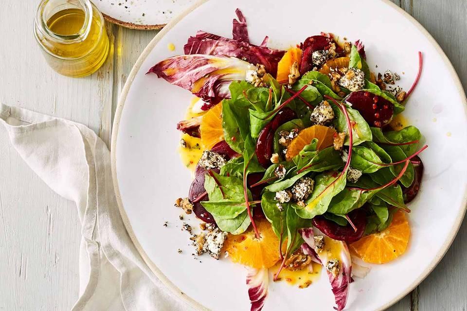 Rote-Bete-Orangen-Salat Rezept