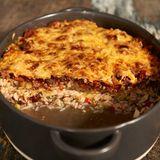 Hack-Reis-Lasagne
