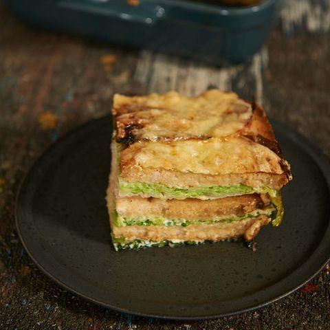 Wirsing-Brot-Lasagne