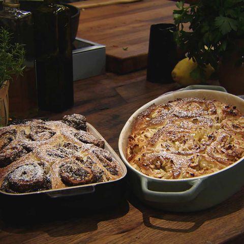 Gefüllte Hefeschnecken: Rezept aus der Kochshow essen & trinken Für jeden Tag