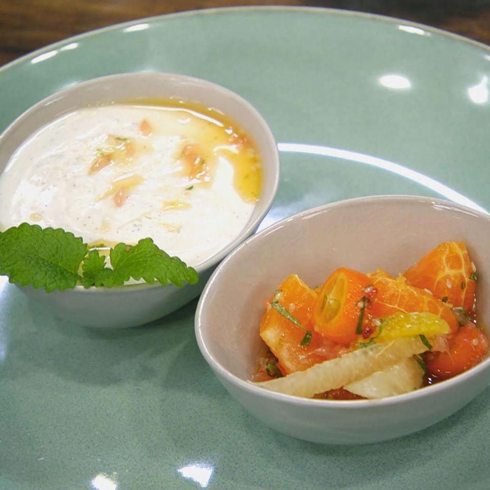Joghurt-Limetten-Mousse: Rezept aus der Kochshow essen & trinken Für jeden Tag