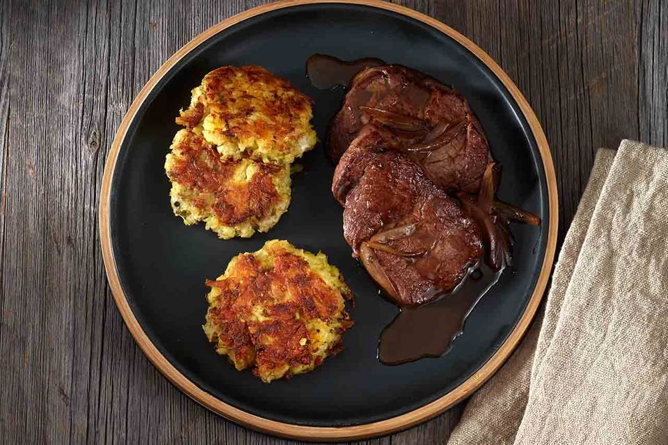 Fenchel-Kartoffel-Rösti Rezept