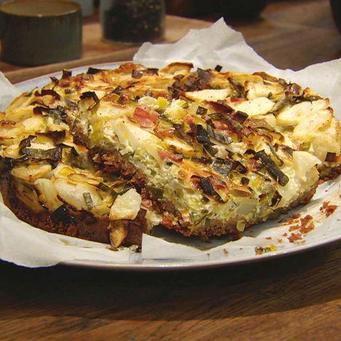 Lauch-Quiche mit Birne: Rezept aus der Kochshow essen & trinken Für jeden Tag