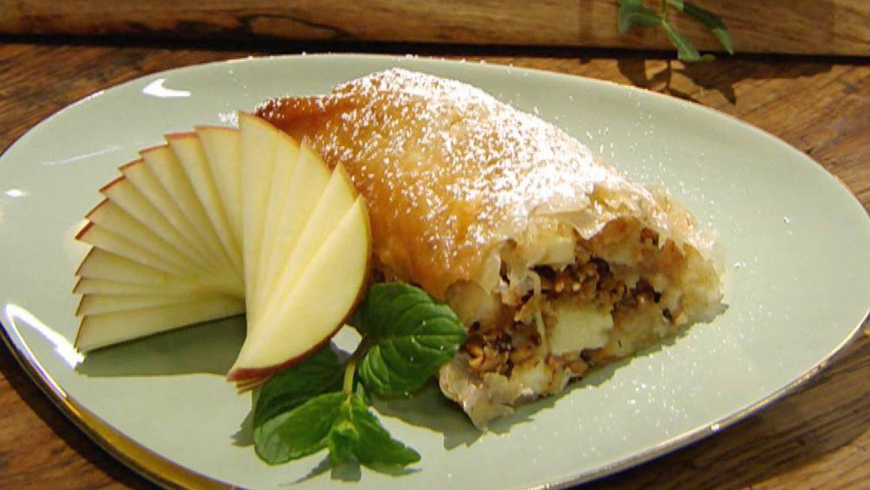 Apfelstrudel mit Zimt: Für jeden Tag Kochshow - [ESSEN UND
