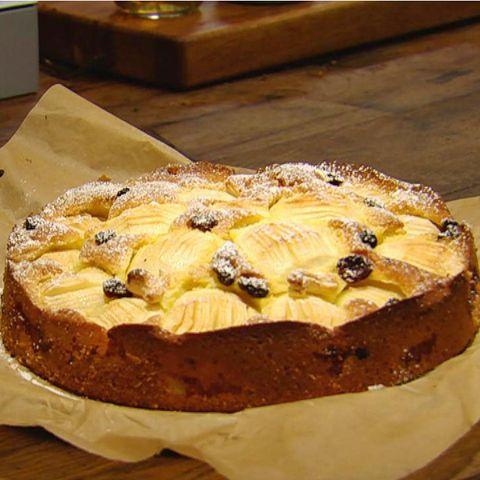 Apfelkuchen mit Cranberries: Rezept aus der Kochshow essen & trinken Für jeden Tag