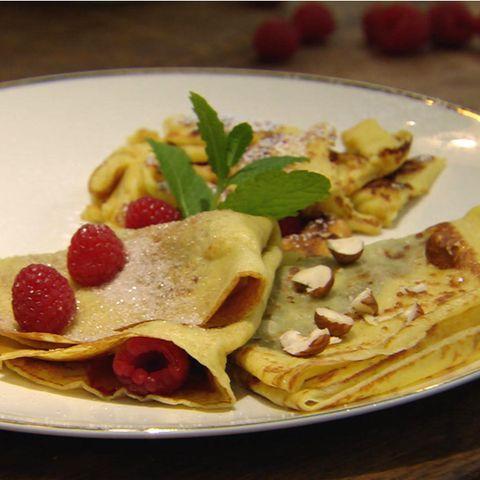 Zweierlei Pfannkuchen: Rezept aus der Kochshow essen & trinken Für jeden Tag