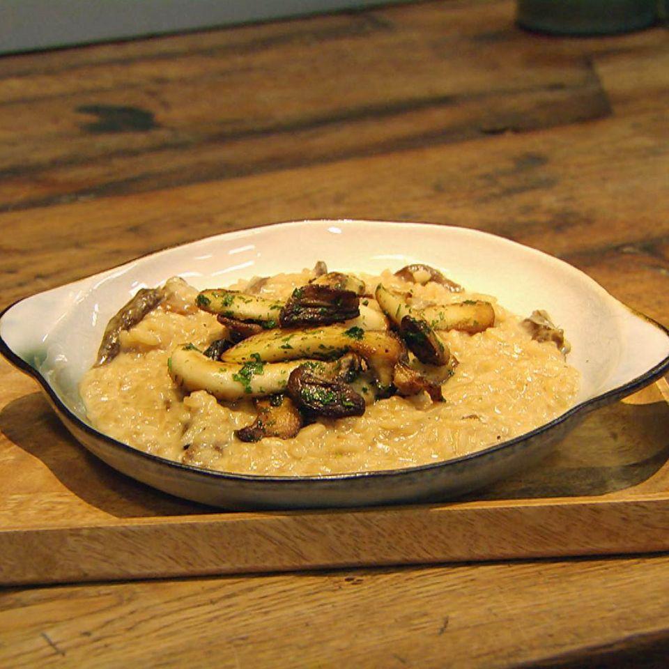 Steinpilz-Risotto: Rezept aus der Kochshow essen & trinken Für jeden Tag