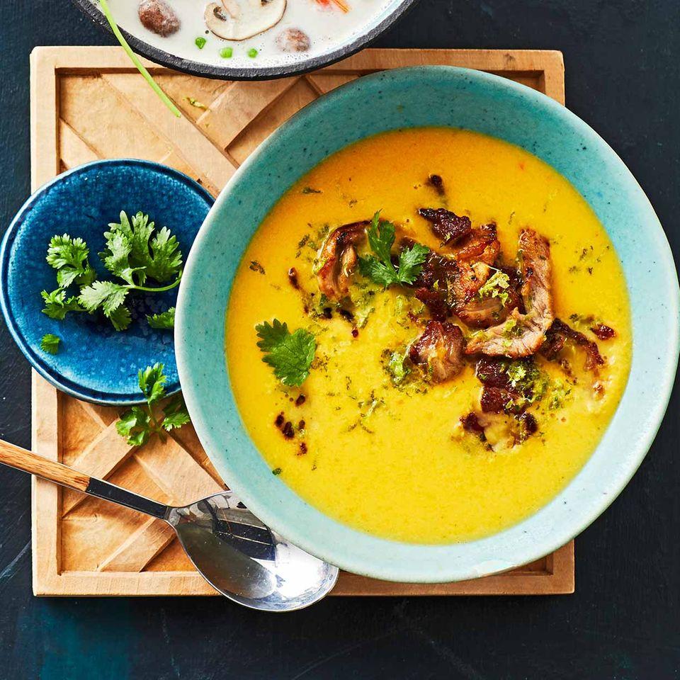 Limetten-Süßkartoffel-Suppe: Thermomix ® Rezept