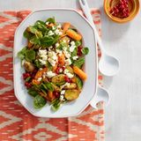 Kartoffel-Möhren-Salat mit Feta