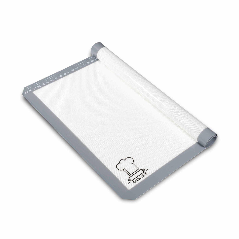 Wiederverwendbare Silikon-Backmatte von Backefix