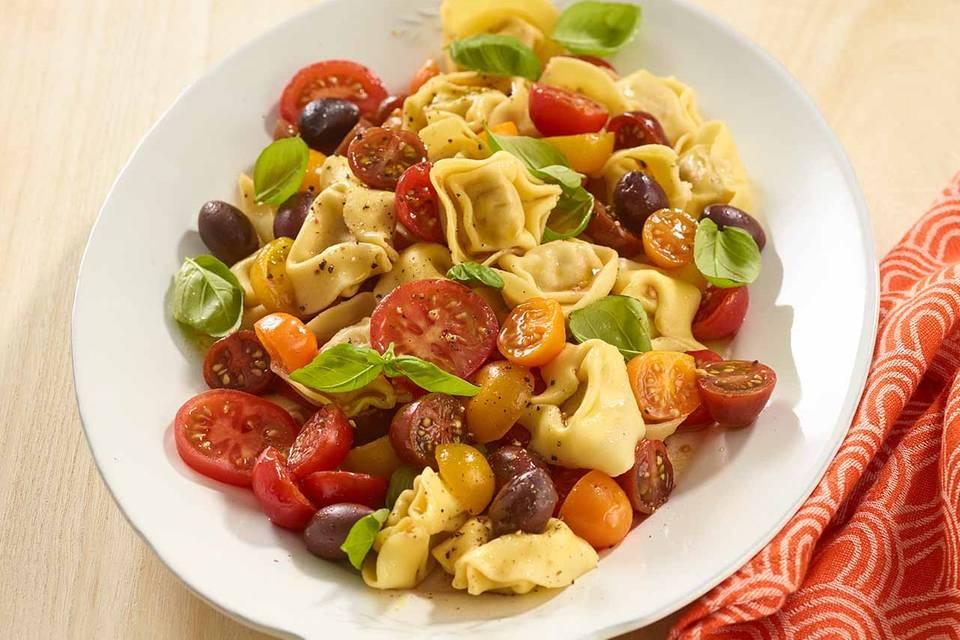 Tomaten-Tortelloni-Salat Rezept