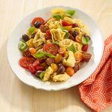 Tomaten-Tortelloni-Salat mit Basilikum