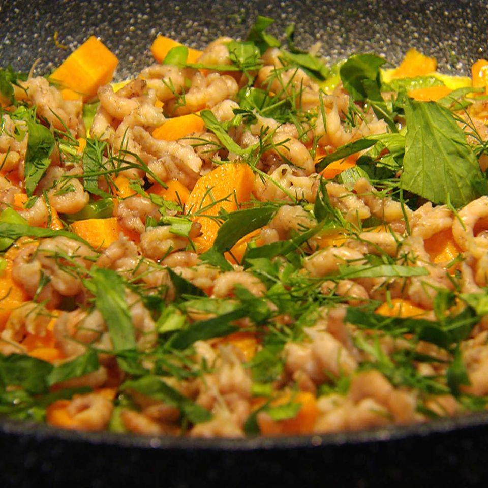 Fischerfrühstück mit Nordseekrabben: Rezept aus der Kochshow essen & trinken Für jeden Tag