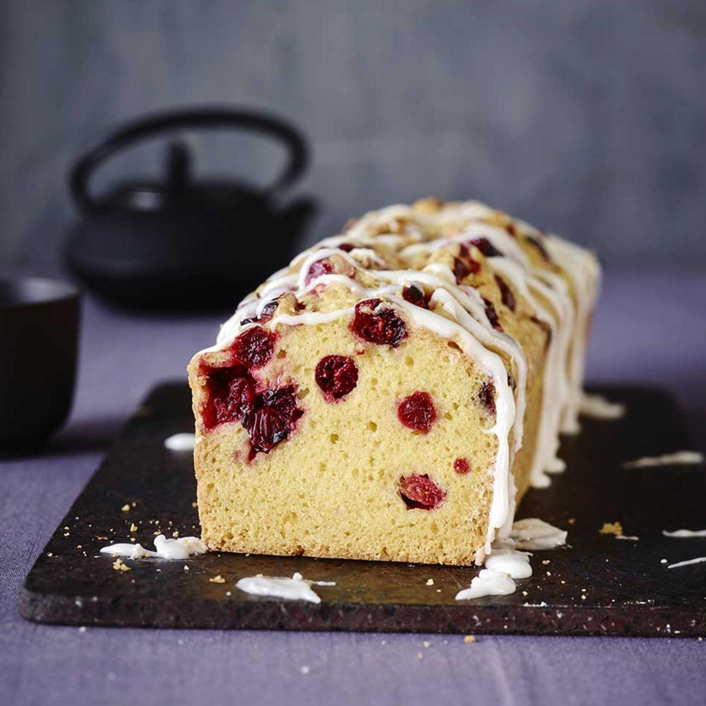 Vanille-Cranberry-Kuchen