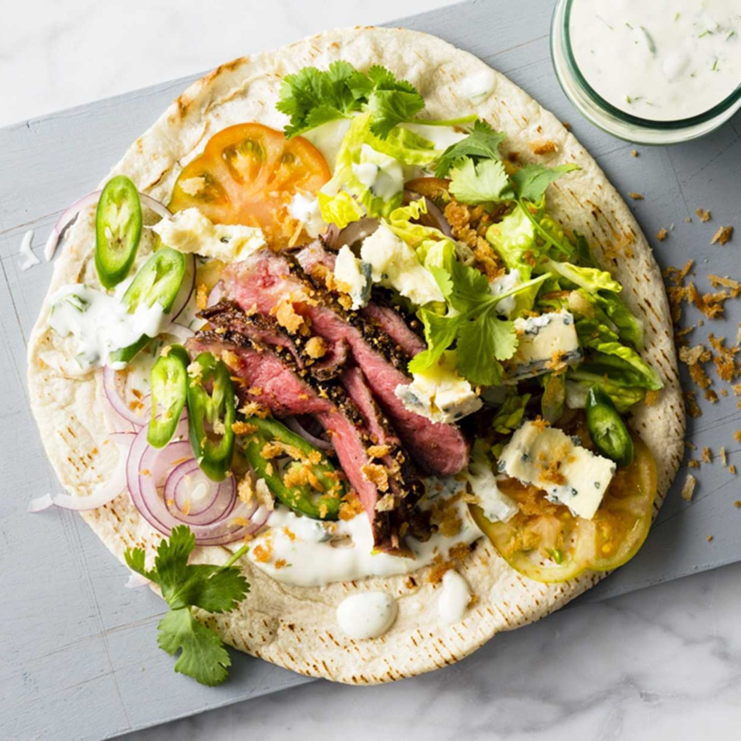 Steak-Tortilla
