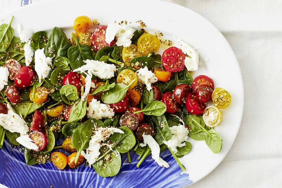 Spinat-Tomaten-Salat: Thermomix ® Rezept