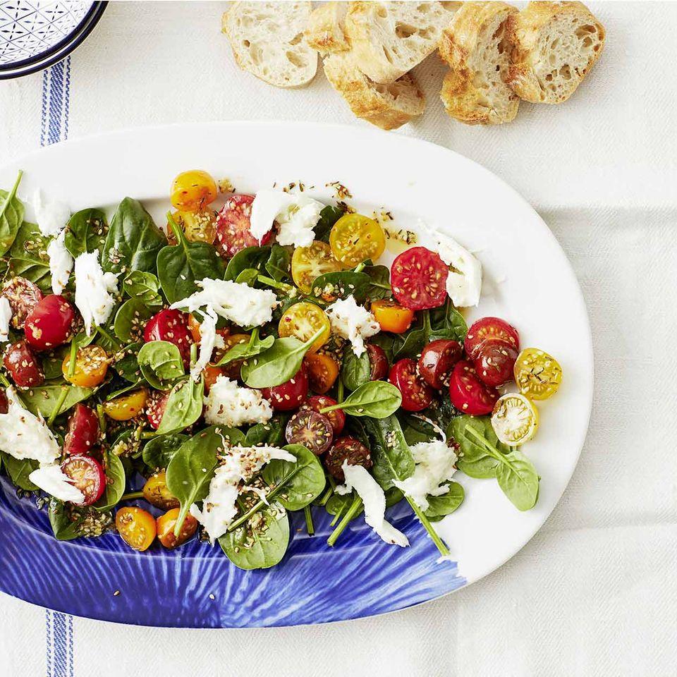 Spinat-Tomaten-Salat für Thermomix ®