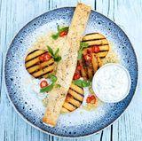 Pfirsich-Bulgur-Salat