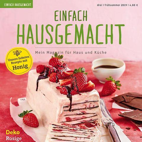 """Einfach Hausgemacht 03/2019 """"Erdbeerliebe"""""""