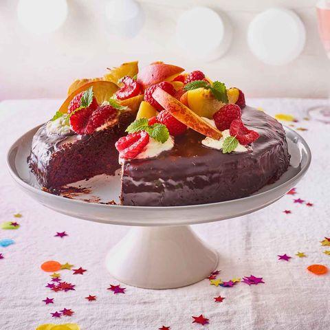 Saftiger-Schokoladenkuchen